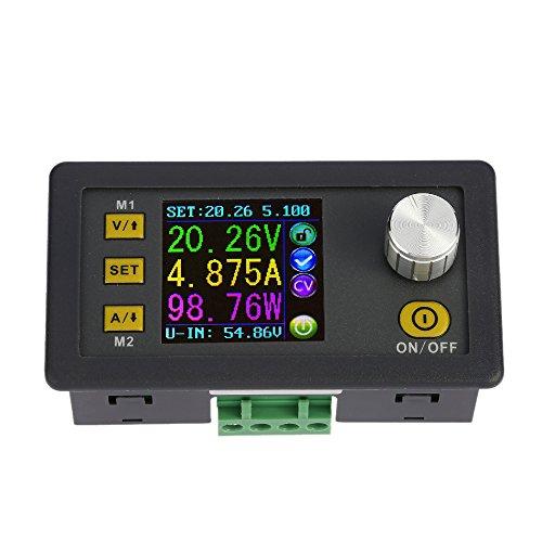 KKmoon 0-50.00V/0-5.000A DPS5005 LCD Digital Programmierbare Konstantspannung Aktuelle Step-Down Power Supply Modul DC 0-50.00V/0-5.000A Test