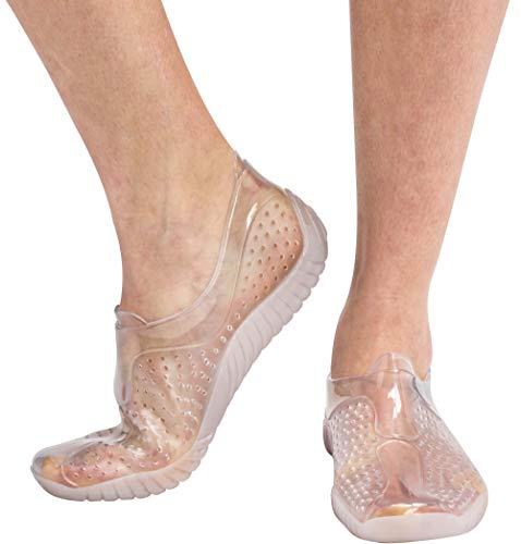Cressi Water Shoes Scarpette per Sport Acquatici, Adulti e Bambini, Trasparente, 37