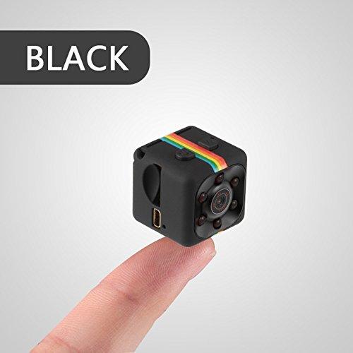 HD-Camcorder-Nachtsicht-Aktion Kamera 1080P Luft Sport DV Sprachvideorekorder deportiva mit TF-Slot [Schwarz 32G] ()