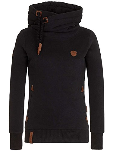 Naketano Female Hoody Darth X Schwarz