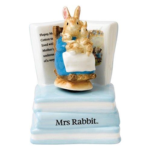 Beatrix Potter-Figurine-Madame Lapin Musical