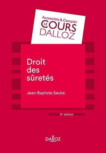 Droit des sûretés - 9e éd.