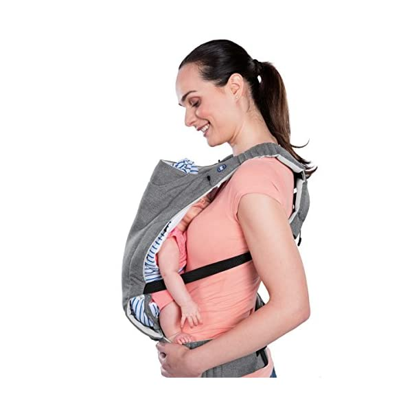 "Chicco myamaki Sling Denim  Suitable from birth. Multi-position: parent facing (0m+), hip position (6m+), back position (6m+) Acknowledged as a ""hip-healthy"" product by the hide (international hip dysplasia institute). 4"