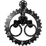 Invotis BIG Year Month Wheel Clock Wanduhr IV117BW
