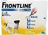FRONTLINE Spot On for Small Dogs, 2-10kg, 3 Pipettes