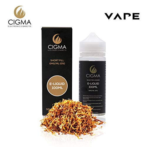CIGMA Gold Tabaco 100ml E Liquido 0mg | Nuevas botellas