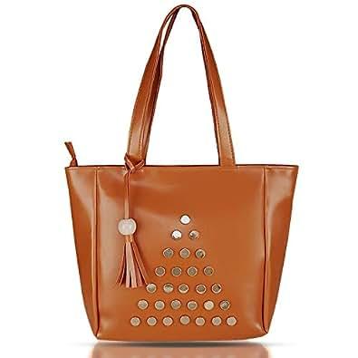 Clementine Colosseum Women's Handbag (Tan)