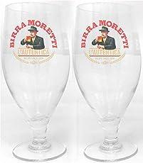 Birra Moretti Gläser, 2 Stück