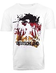 Deutschland EM 2016 Fanshirt - T-Shirts für Herren, Damen & Kinder XS-5XL