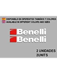 PEGATINAS STICKERS BENELLI F85 AUFKLEBER DECALS AUTOCOLLANTS ADESIVI (BLANCO/WHITE)