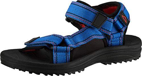 McKINLEY Unisex-Kinder Maui JR Trekking-& Wanderhalbschuhe, Blau (Blue Royal/Red/Bla 900), 33 EU