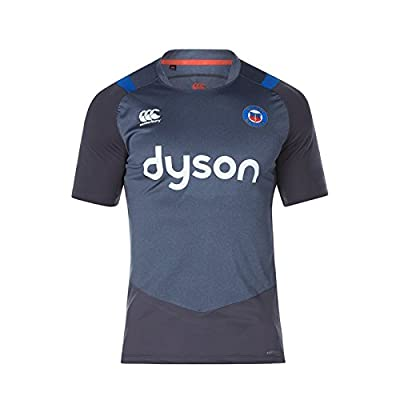 Bath 2017/18 Players Superlight Rugby Training T-Shirt - Nine Iron Marl by Canterbury