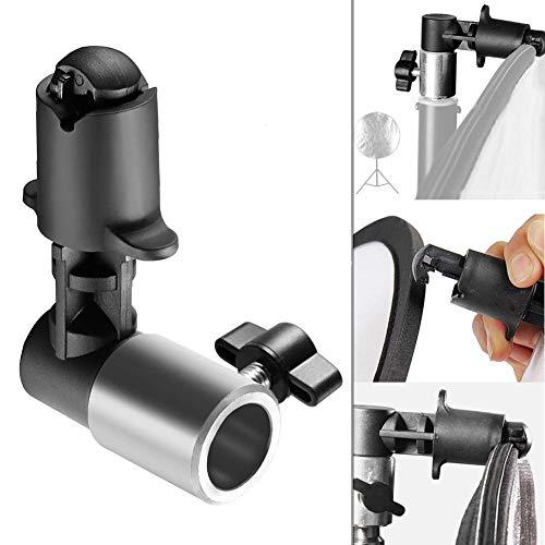 Soporte para reflector, abrazaderas de fondo, discos resistentes reflectantes, soporte para trípode y fondo para fotografía de estudio