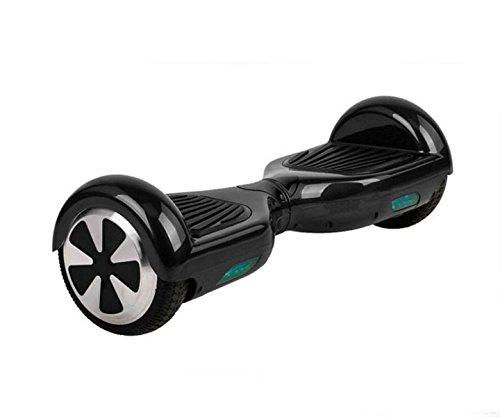 Patín niño eléctrico ruedas 6,5 pulgadas, Negro