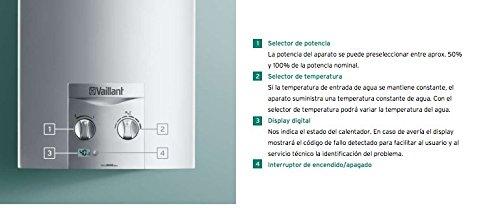 Vaillant Green Plus atmoMAG Exclusiv 11XI Erdgas Energie-Effizienzklasse ENERGETICA A \ M