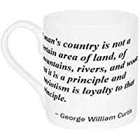 Mug with A man's country is not a certain area