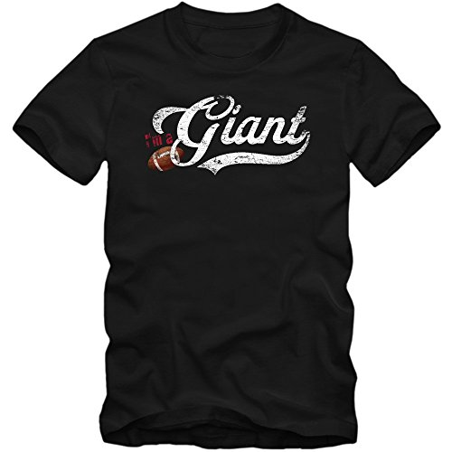 I'm a Giant #1 T-Shirt | Football | Herren | Super Bowl | Play Offs | USA | S-3XL, Farbe:Schwarz (Deep Black L190);Größe:L