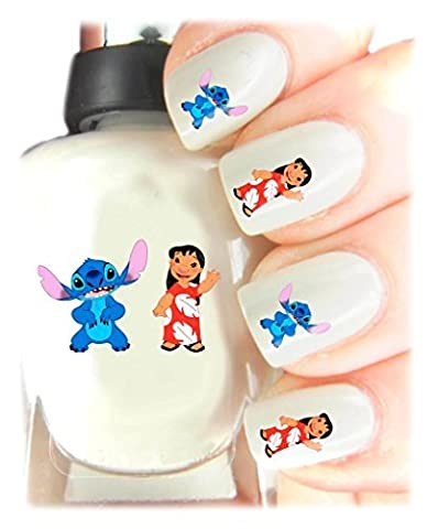 Easy to use, High Quality Nail Art Decal Stickers For Every Occasion! Ideal Christmas Present / Gift - Great Stocking Filler Disneys Lilo and