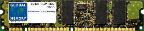 GLOBAL MEMORY 256MB DRAM DIMM ARBEITSSPEICHER FÜR Cisco 7500Series VIP4des Routers (mem-vip4-256m-sd) -