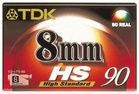 TDK P 5 90 HS Video Cassette Confezione da 1