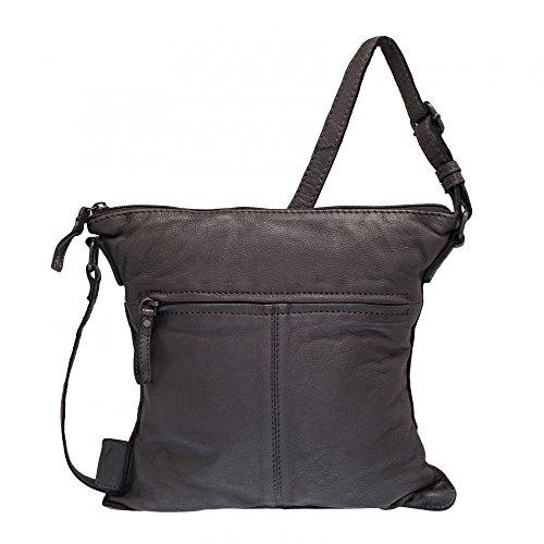 Voi Leather Design RV-Tasche Schwarz