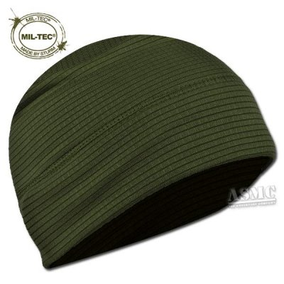 Mil-Tec - Cappellino a rapida asciugatura, Verde (oliva), Taglia unica