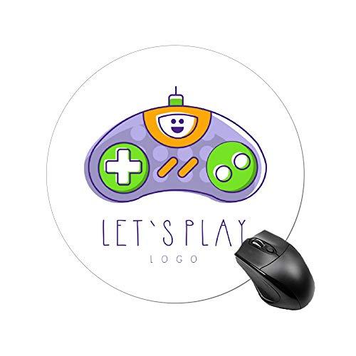 Padida Gaming Mauspad, niedliches Cartoon-Design, Pink Baby Dragon Funny Fantasy, personalisiertes Design, rutschfestes Gummi Mauspad size3 Color2