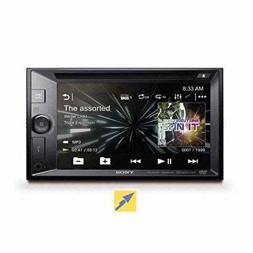 Sony XAV-W651BT Auto Radio Multimedia Car Stereo (Black)