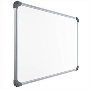 Pragati Systems® Genius Melamine (Non-Magnetic) Whiteboard for Office, Home and School (GWB90120), Lightweight Aluminium…