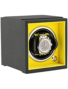 UhrenBeweger für große Handgelenkgrößen schwarz Soft-Touch-Add auf das System der Aevitas Gelb