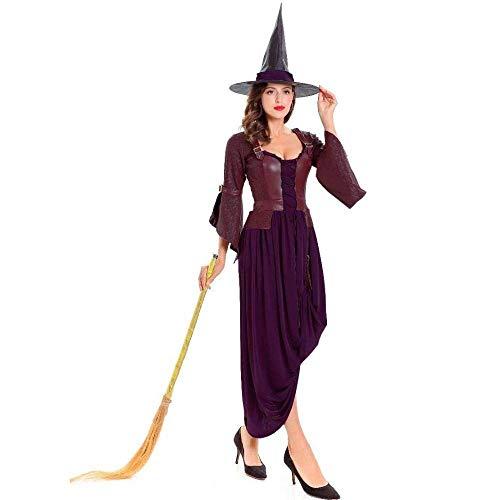 Fashion-Cos1 Halloween Kostüme Sexy Frauen Plus Size Königin Kleid Erwachsene Frau Leder Pu Hexe Vampire Count (Plus Size Krankenschwester Halloween Kostüme)