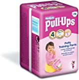 Huggies Pull Ups Potty Training Pants for Girls - Small (8-15 kg), 16 x 6 Packs (96 Pants)