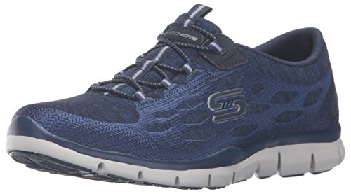 Skechers Sport Gratis Hit It Big Fashion Sneaker Navy