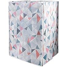 Funda MyLifeUNIT resistente al agua para lavadora, cubierta impermeable para lavadora Front Load Pop