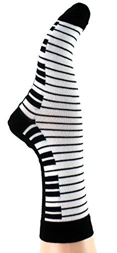 Musik-Socken Tastatur (35/38) - Schönes Geschenk für Musiker - 3