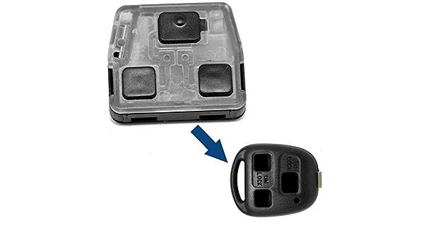 Auto Schlüssel Funk Fernbedienung 1x Funk Container Leer Für 3 Tasten Gehäuse Für Toyota