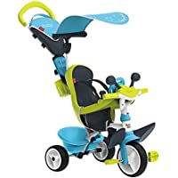 Smoby - Tricycle Baby Driver Confort 2 - Tricycle Evolutif avec Roues Silencieuses