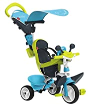 Smoby Triciclo Baby Driver Confort Boy 10 mesi 7600741200