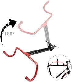 6da4534ef Cablematic - Soporte de pared con gancho plegable para colgar bicicleta
