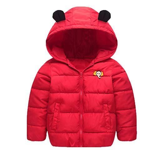 Winterkleidung für Kinder Kinderjacke Heligen Unisex Kinder Baby Mädchen Jungen Winter Mit Kapuze Mantel Mantel Jacke Dicke Warme Oberbekleidung Kleidung Reißverschluss
