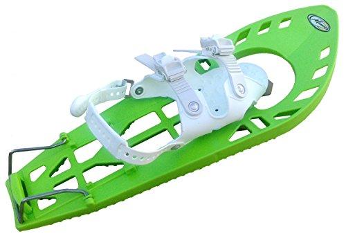 Morpho trimmyalp Freeride–Raquetas de nieve unisex, color verde/blanco, talla única