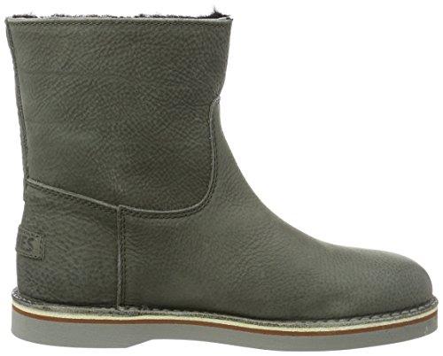 Shabbies Amsterdam - Shabbies Ladies Short Boot 16cm With Merino Lammy Lining Alissa, Stivali bassi con imbottitura leggera Donna Grigio (Grau (storm))