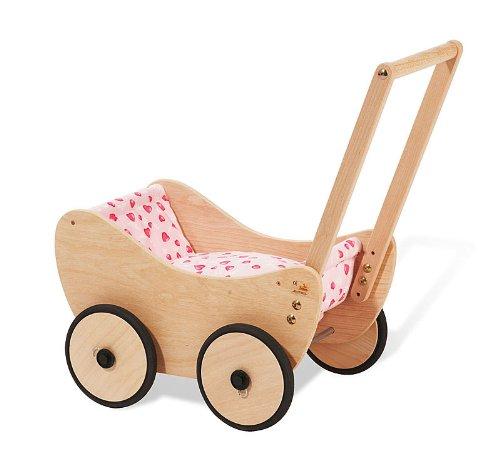 Preisvergleich Produktbild Pinolino 262005-7 Trixi Puppenwagen komplett, braun/rosa
