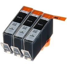 3 Multipack de alta capacidad HP 920 Cartuchos Compatibles 3 negro para HP Officejet 6000, Officejet 6500 AIO WL E710N, Officejet 6500 Wireless, Officejet 7000 E809A, Officejet 7500 WF AIO E910A, Officejet 6500 AIOS, Officejet 7000 Wide Format. Cartucho de tinta . CD975AE © 123 Cartucho
