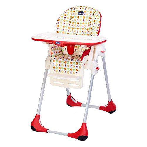 Chicco Polly Easy Seggiolone, Ampio/Compatto e Semplice, per Bambini da 0 a 3 Anni, Sunrise