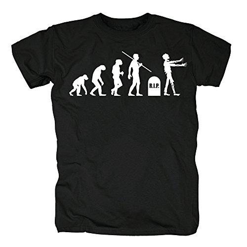 TSP Evolution Zombies T-Shirt Herren L Schwarz