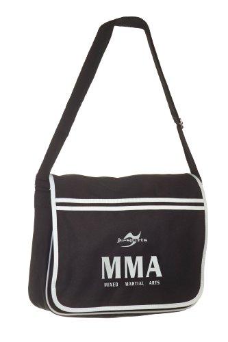 Retro Messenger Bag schwarz MMA