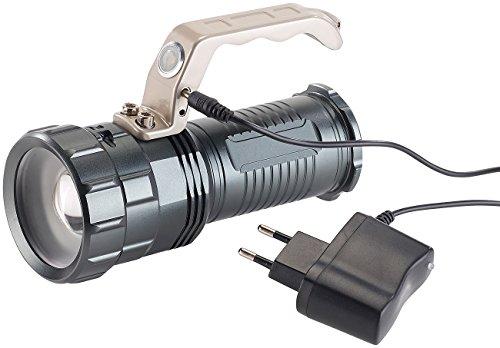 KryoLights Extrahelle Akku-LED-Handlampe TRC-410 CREE LED, 550lm, 10W, IP44 - 3