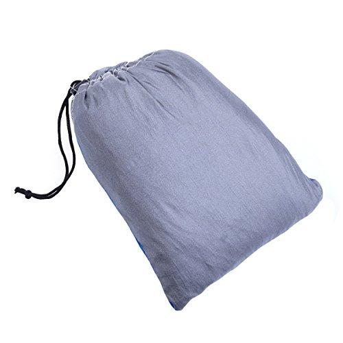 iiniim Hängematte Tragbaren Parachute Hängematte [275x140cm] - 5