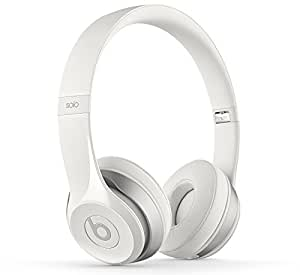 Beats Solo2 Casque Audio supra-auriculaires - Blanc Brillant